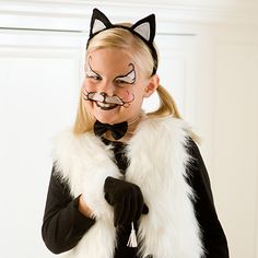 Kitty Cat Face Painting | Spoonful