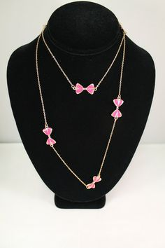 Olivia Multi Bow Necklace – Moon Child Boutique