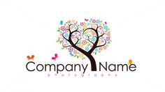 whimsical tree of hearts — Ready-made Logo Designs   99designs