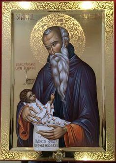 Byzantine Icons, Byzantine Art, Russian Icons, Icon Collection, Orthodox Icons, St Joseph, Christian Art, Religious Art, Saints