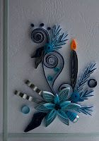 neli: Quilling cards - Christmas 9