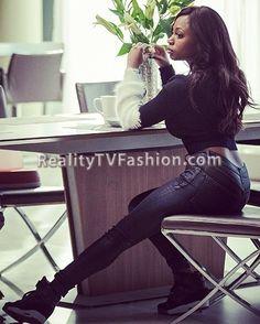 "Tasha St. Patrick's Black & White Alpaca Sleeve Cropped Sweater on ""Power"""