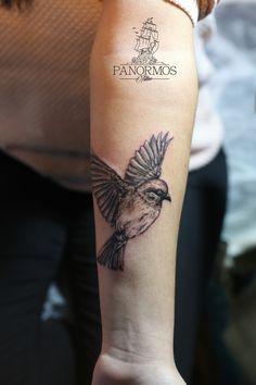 Flying Bird Tattoo   #tattoo #tattoos #tattoosofinstagram #model #tattoomodel #tattoolife #tattooed #black #ink #inked #design #tattoodesign #work #panormostattoo #follow #f4f #followme #followforfollow #follow4follow #teamfollowback #followher