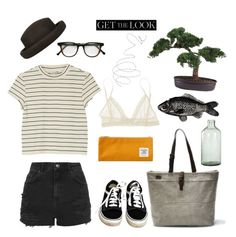 """""""Untitled #24"""" by nagy-bori on Polyvore featuring Topshop, Sweet Bella, Abyss & Habidecor, Cutler and Gross, Nearly Natural, Monki, Imperfect Design, Vans and Eberjey"""