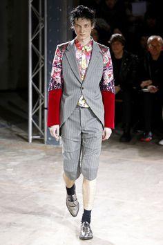 Comme des Garcons Homme Plus   Menswear - Autumn 2016   Look 25