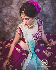 The deep aubergine color ! Shot by @dreamgrapher.shraddha | Styled by…