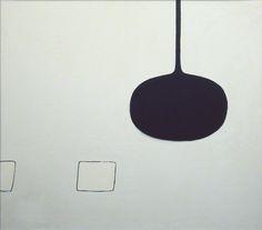 William Scott, White Shapes Entering, 1973, Oil on canvas, 107.5 × 122.3 cm / 42¼ × 48¼ in, Fermanagh County Museum, Enniskillen