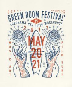 Greenroom Festival 2017 on Behance