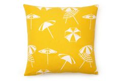 Love this summer parasols pillow!