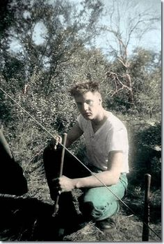 Elvis in the U.S. Army : Photos In Colour : Elvis Presley Music : Elvis Australia Official Elvis Presley Fan Club :