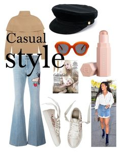 """""""Casual style"""" by peresvas on Polyvore featuring мода, Gucci, Chloé, Manokhi и Puma"""