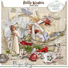 Hello Winter { Kit PU } Florju Designs