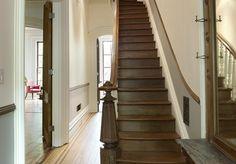 Original Staircase in Brooklyn Brownstone Renovation (Murdock Solon Architects}