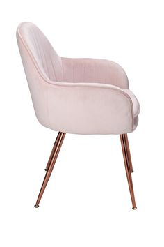 Buy Argos Home Bella Pair of Velvet Dining Chairs - Blush at Argos. Thousands of products for same day delivery or fast store collection. Velvet Bedroom, Bedroom Chair, Room Ideas Bedroom, Bedroom Furniture, Room Decor, Restoration Hardware Dining Chairs, Adirondack Chair Cushions, Love Design, Design Ideas