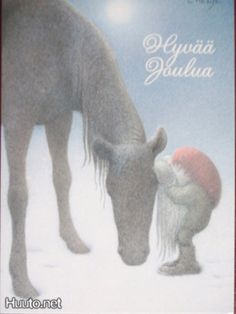 Swedish painter/illustrator Lennart Helje is well known for his fairytale like illustrations of Christmas elves and animals in snowy landscapes. Several of his paintings are reproduced as… Christmas Illustration, Book Illustration, Swedish Christmas, Vintage Christmas, Christmas Cards, Magical Creatures, Horse Art, Whimsical Art, Faeries