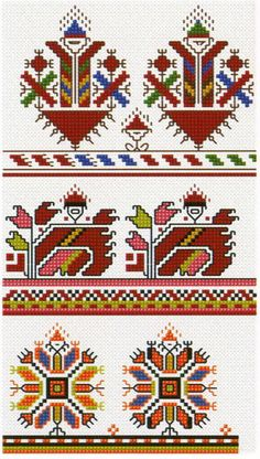 This Pin was discovered by Ani Cross Stitch Borders, Cross Stitch Samplers, Cross Stitch Flowers, Cross Stitching, Cross Stitch Patterns, Creative Embroidery, Folk Embroidery, Cross Stitch Embroidery, Embroidery Patterns