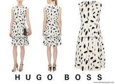 Hugo Boss Dikita Patterned dress- выбор принцессы Мари