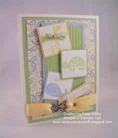 Baby card. I like the Swirl clip.