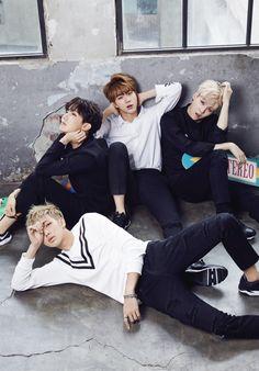 J-HOPE, JIN, SUGA, RAP MONSTER // @STAR1