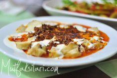 simit_tiridi Ravioli, Turkish Recipes, Ethnic Recipes, Lasagna, Macaroni And Cheese, French Toast, Bagel, Breakfast, Food