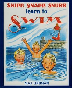 Snipp, Snapp, Snurr Learn to Swim - paperback
