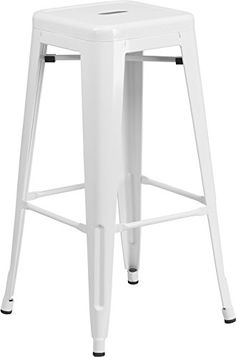 Flash Furniture Backless Metal Bar Stool, 30-Inch, White Flash Furniture http://www.amazon.com/dp/B00T0EG2OA/ref=cm_sw_r_pi_dp_3Y-gvb0AYDVAD