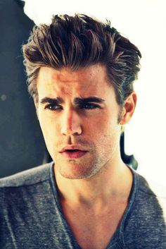 Paul Wesley - (I like Damon better but Stefan is a cutie too!) - YUM