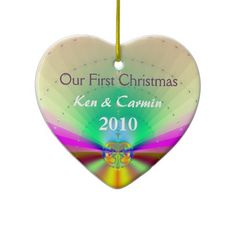 Our First Christmas Christmas Tree Ornaments