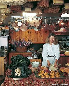 Martha Stewart 1970's... DIY Queen.  I saw this photo in her magazine about ten years ago.  A bit over the top, for sure, but she is the real deal.