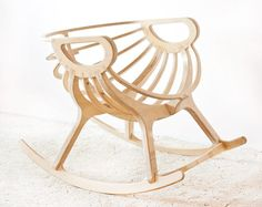 Rocking chair Wooden Rocking chair  furniture Wooden by TreeSky, $760.00