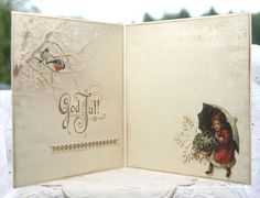 Anne's paper fun: Christmas card {Wintertime in Swedish Lapland}
