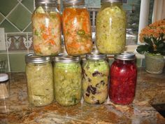 How to make fermented veggies ( step by step pictures)
