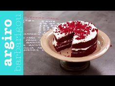 Red Velvet Cake από την Αργυρώ Μπαρμπαρίγου   Αυθεντική συνταγή red velvet κέικ από τον αμερικάνικο νότο. Τόσο αφράτο, με κρέμα μοναδική. Δοκιμάστε το όλοι! Greek Cake, Red Velvet Cake, Cake Youtube, Food Categories, I Foods, Birthday Candles, Cheesecake, Brunch, Food And Drink