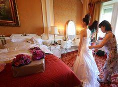 Herrichten Braut - Brautkleid
