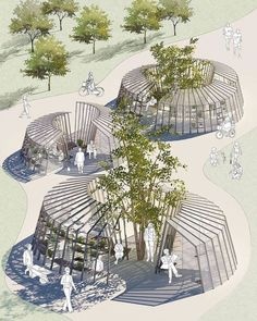 Cultural Architecture Home Cultural Architecture, Architecture Design Concept, Architecture Durable, Plans Architecture, Landscape Architecture Drawing, Landscape And Urbanism, Pavilion Architecture, Sustainable Architecture, Urban Landscape