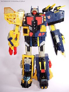 Transformers unicorn trophy Omega supreme robot mode