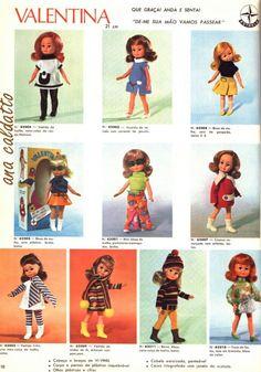 Catálogo da ESTRELA. Boneca Valentina