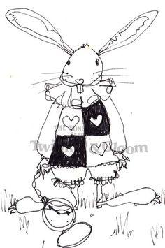Alice in Wonderland drawings. - Craft forum by TheNonsenseFairy