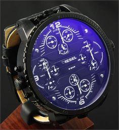 Oh yea Diesel Grand Daddy Watch Big Watches, Dream Watches, Luxury Watches, Cool Watches, Watches For Men, Amazing Watches, Beautiful Watches, Smartwatch, Diesel Watch
