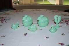 Small Jadeite animals