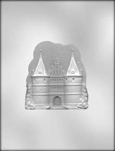 Large Castle Chocolate Candy Mold Disney by CakeAndCandyDreams