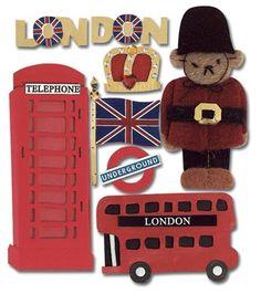 Jolee's LONDON Stickers #JoleesBoutique