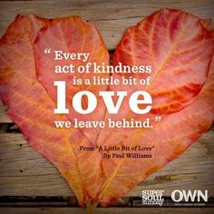 ☆Paul Williams shared how kindness should be like a melody sung within our souls. Kindness Matters, Kindness Quotes, Wisdom Quotes, Me Quotes, Advice Quotes, Qoutes, Uplifting Quotes, Inspirational Quotes, Super Soul Sunday