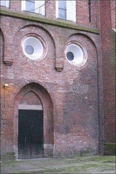 Suprised house