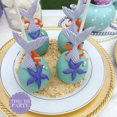 Baby Shower Ides Mermaid Cake Pop Ideas For 2019 Mermaid Cake Pops, Little Mermaid Cakes, The Little Mermaid, Mermaid Theme Birthday, Little Mermaid Birthday, Little Mermaid Parties, Sirenita Cake, Coral Cake, Baby Shower Cake Pops