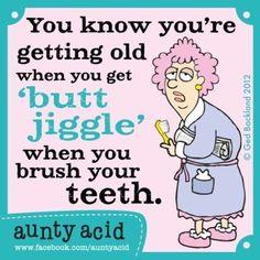 LOL with Aunty Acid, the British Maxine