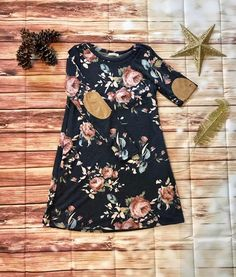 Love this floral Fall Dress. Found here. Www.facebook.com/JosieGraceBoutique