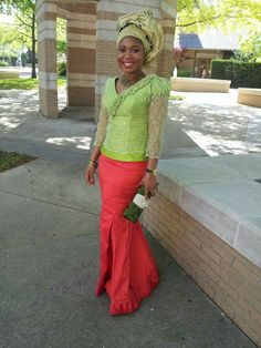 Igbo woman. Church. Wedding. Gele. African fashion. Nigerian style