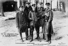 The Five Most Successful Airmen Of Jagdstaffel Richthofen