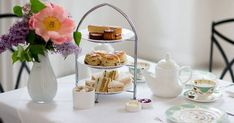 Few experiences are as quintessentially British as indulging in a pot of tea, a warm scone slathered with clotted cream and a selection of tiny sandwiches (rectangular only, never triangles). So if you're in London, you must try it for yourself. Here, our seven favorite London afternoon tea spots. Whether you're in the mood for a classic affair, something for the kids or scones with a side of sightseeing, we've got you covered. Just remember to book ahead?these brilliant spots are...